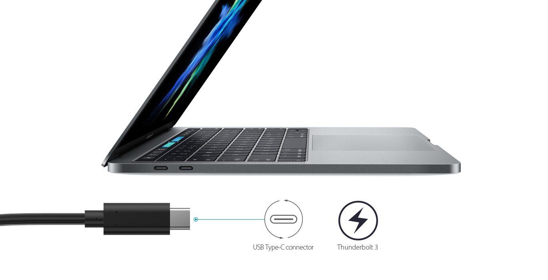 O nome é USB4, mas pode chamar de Thunderbolt 3