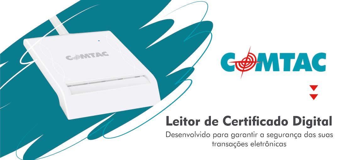 Leitor de cartão certificado digital